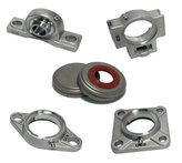 QCB Stainless Steel housed bearing units and inserts now part of our Select Range