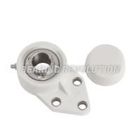 FBL Series - Thermoplastic Flange Bracket Housed Bearing Units (White)