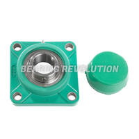 FPL Series - Thermoplastic 4 Bolt Flange Housed Bearing Units (Green)
