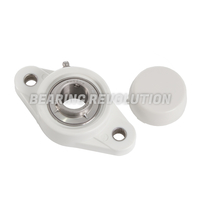 NFL Series - Thermoplastic 2 Bolt Flange Unit (White)