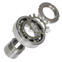 Single Row Ball Bearings with Adapter Sleeve