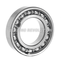 Single Row Radial Deep Groove Ball Bearings with Filling Slots (Maximum Capacity Type)