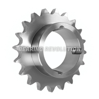 31-38 (1210) Taper Bore Simplex Sprocket to suit 06B-1 chain