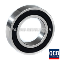 6004 2RS S/S, Stainless Steel Deep Groove Ball Bearing with a 20mm bore - Select Range