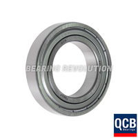 6004 ZZ, Deep Groove Ball Bearing with a 20mm bore - Select Range