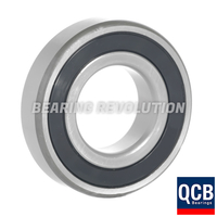 6201 2RS S/S, Stainless Steel Deep Groove Ball Bearing with a 12mm bore - Select Range