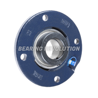 Round Flanged Housed Bearing Units
