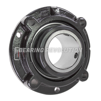 FC3 U263N, Linkbelt-Rexnord Four Bolt Ball Bearing Flanged Unit with a 3.15/16 inch bore.
