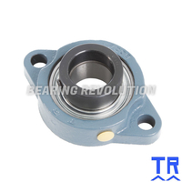 LFTC 25 EC  ( SALF 205 )  -  Oval Flange Unit with a 25mm bore - TR Brand