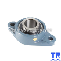 MSFT 1  ( UCFLX 05 16 )  -  Oval Flange Unit with a 1 inch bore - TR Brand