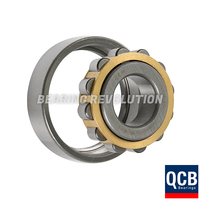 NF 209 E, NF-Series Cylindrical Roller Bearing with a 45mm bore - Brass Cage - Select Range