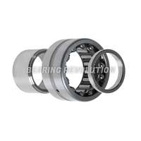 NKIB 5902, Combined Needle Roller Bearing with a 15mm bore - Premium Range