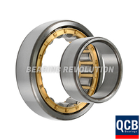 NU 2208 E C3, NU-Series Cylindrical Roller Bearing with a 40mm bore - Brass Cage - Select Range