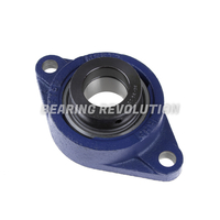 SFT 1.3/8 EC, 'Premium' Oval Flange unit with a 1.3/8 inch bore.