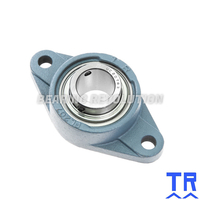 TSFT 25  ( UCFL 205 R3 ) - Triple Sealed Oval Flange Unit with a 25mm bore - TR Brand