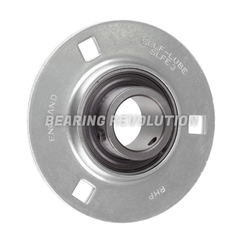 SLFE 1 1/8 A, 'Premium' Round Housing Flange Unit with a 1 1/8 inch bore