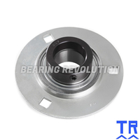 SLFE 1.1/8 EC  ( SAPF 206 18 ) - Round Housing Flange Unit with a 1.1/8 inch bore - TR Brand