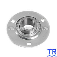 SLFE 15 A  ( SBPF 202 ) - Round Housing Flange Unit with a 15mm bore - TR Brand