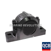 SNH 522 619 BLACK, Split Pillow Block Housing for Adaptor Sleeve Mounting - Select Range
