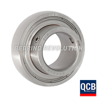 SSB 207-20, Stainless Steel Bearing Insert with a 1.1/4 inch bore - Select Range