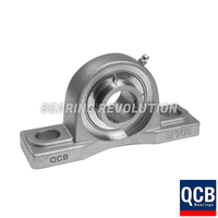 SSUCP 202 SB - Stainless Steel Pillow Block Housing with a 15mm bore - Select Range