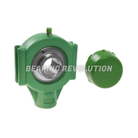 TPL 205 S/S N 6 GRN, Green Thermoplastic Take Up Housing Unit with a 25mm bore - Budget Range