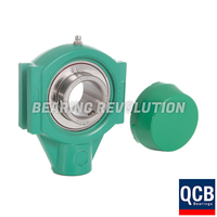 TPL 207 20 S/S N6 GRN, Green Thermoplastic Take Up Housing Unit with a 1.1/4 inch bore - Select Range